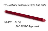 backup light led trailer - 17 quot Submersible Red LED Light Bar Backup Reverse Fog for Truck Trailer V