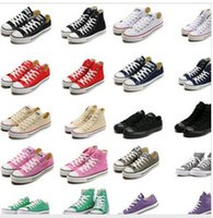 big chuck - NEW size HOT New big Size High top Casual Shoes Low top Style sports stars chuck Classic Canvas Shoe Sneakers