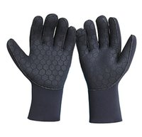 Wholesale Hot sale NEW Winter Swimming Surfing Sports Gloves MM CR Super Strech Diving Gloves protect comfortable