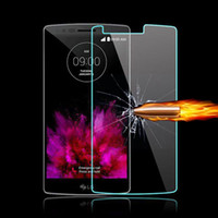 Wholesale 0 mm HD Ultra thin Clear Tempered Glass Screen Protector For LG LG G5 G4 G3 G2 V10 Spirit H440 Leon C40 H340N G4 Stylus Protective Film