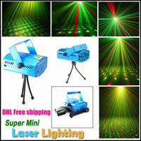 Wholesale Red and Green Mini Laser Stage Lighting Stars Twinkle LED Effects for Bar Club Party Room Lights with Voice activated Auto Model