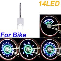 Wholesale High Quality Colorful Bicycle Bike Cycling Wheel Spoke Light Lights LED Lamp Colors