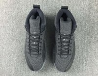 aa bonding - Air Retro Wool Gray Black AA High Quality Version Man Basketball Athletics Shoes XII Size