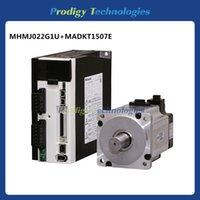 ac servo motor control - MHMJ022G1U MADKT1507E W RPM High Inertia Pulse Control AC Servo Motor with Servo Drive