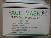Wholesale 50pcs pack Non Woven white Disposable Face Mask Medical dental Earloop Anti Dust Face Surgical Masks