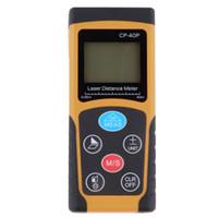 Wholesale Hot Search CP P m High precision Handheld Digital IR Laser Distance Meter Range Finder Diastimeter