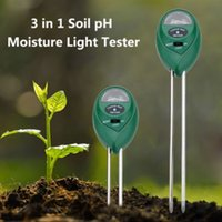 Wholesale in1 Plant Flowers Soil PH Tester Moisture Light Meter Ideal and necessary tool for gardeners