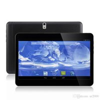 Wholesale 1pcs Inch G Phone call Tablet PC Android Quad core MTK6582 GB GB GPS Dual Camera Tablet