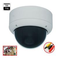 Sistema de seguridad de la bóveda del ccd Baratos-180 grados de ángulo ancho Fisheye Analog Dome cámara 700tvl CCD Effio CCTV cámara de sistema de seguridad del producto