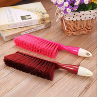 Wholesale High quality SBS handle cleaning brush A large brush sweep bed Long handled brush brush dusted off Plastic coat cleaning brush