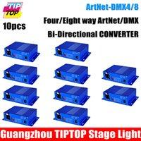 art connector - Discount Price Unit ArtNet DMX4 Stage Light Controller DMX Internet Converter Female Pin XLR Connector Art Net UDP TCP