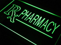 bar drugs - j939 RX Pharmacy Drug Stores Shops LED Neon Light Sign Cheap sign lite High Quality sign box