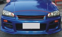Wholesale Fiber Glass hood lip spoiler for Skyline R34 GTT spoiler R34 wing
