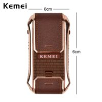 Wholesale Kemei in Rechargeable Electric Shaver For Men Mens Beard Shaving Machine Men s Shaver Electric Razor Shave RCS115_4750