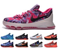 air lime - Men Air Mesh Barefoot Kevin Durant Casual Shoes Outdoor Trainers Max Homme KD Sneakers Size Eur