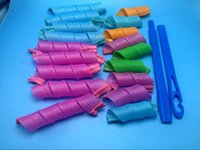 Wholesale 2016 Amazing Magic Leverag Hair Curlers Curlformers Hair Roller Hair Styling Tools DHL Free VS x Hairstyle Foam
