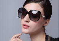 alloy door frames - 2016 New Summer Sunglasses For Women Square Frame Lens Eyeglasses UV400 Protection Fishing Driving Out door Sunglasses Female