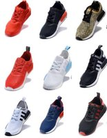 Wholesale 2016 NMD Runner Primeknit Boots R1 White Running Shoes Mid City Sock Training Men Women Boston Super Zapatos Hombre Originals Campus Sports
