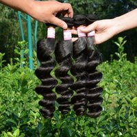 best weaves for natural hair - Best selling a discount hair loose wave human hair extensions bundles inch unprocessed loose curls malaysian loose wavy for sale