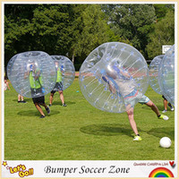 Wholesale m Inflatable Human Hamster Ball Loopy Ball Bubble Football Bumper Ball Boby Zorb Ball