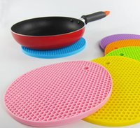 Wholesale Silicone Pot Holder Dreamwit Trivet Mat Hot Pads Perfect For Modern Home Decor Silicone Heat Resistant Coasters Cup Insulation Mat
