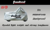 Wholesale Tanked Racing motorcycle cover TMC004 motorbike covers Sunscreen rainproof dustproof Painted silver polyester PVC material size S M L XL XXL