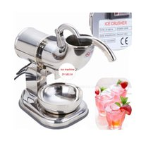 Wholesale Fast v v Fully Stainless Steel Snow Cone Machine Ice Shaver Maker Ice Crusher Maker by hosalei