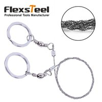 Wholesale Flexsteel Pocket inch cm Steel Wire Saw Mini Multifunctional Chain Saw for Camping Hunting Survival Rescue
