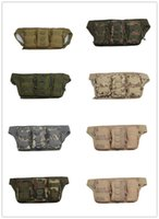 Wholesale Triple pocketsMultifunction pockets male outdoor camouflage pockets multifunction pockets close Tactical Molle Pouch Belt Waist Pack Bag Poc