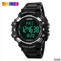 Wholesale skmei wrist watch heart rate monitor sport LED M Waterproof Digital Clock for Women Men kids Fashion wristwatch Watches