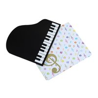 Wholesale music theme rubber mouse pad musician Mozart head portrait anti skid pad music note mouse pad music gift mouse pad