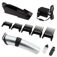 Wholesale Newest design high quality rechargeable hair clippers with base
