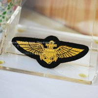 assault work - Spot package import custom Gold US Navy Marine Corps flight Assault Badge Medal