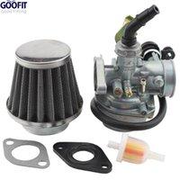 Wholesale GOOFIT ATV Quad Go kart Carburetor Pz19 Air Filter Cable Choke Chinese cc cc cc Group