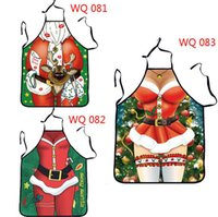 Wholesale 10pcs aprons women Anime Christmas Gift Character Series Kitchen Apron Funny Personality Cooking apron Christmas November