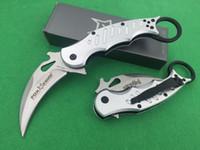 best folder knife - Best Edition Fox Karambit Folder C Steel G10 Handle Kuku Hanuman Trainer TK Tactical Knife Pocket Knife F392E