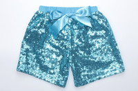 Wholesale Hot selling baby pants boys girls shorts kids trousers sequin short for children baby girls costumes clothes