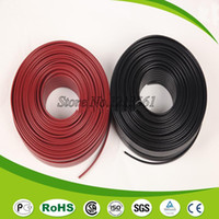Cheap Wholesale-10M pc Anti-freeze Frost Protection Heating Cable For Water Pipe Roof 230V 8MM 30W M Self Regulating Electric Heater Copper Wire