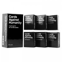 Wholesale In Stock Cards Against Humanities AU Basic Edition Cards Of Humanity And US Expansion complete Set Fum card game Classic Card Free S