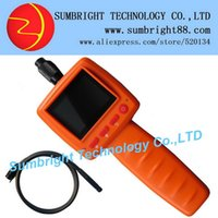 articulating borescope - SB IE99D mm M quot color LCD car industrial snake garage promotion IP67 camera articulating borescope with LED