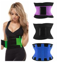 Wholesale High quality Neoprene Sports Miss Belt Waist Trainer Burn Fat Loss Weight Girdle For Women Body Shaper XS XL