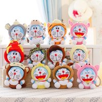 baby delivery gifts - 18cm Constellation models Doraemon cat plush Toy cartoon Car baby doll birthday gift delivery Factory direct quality assurance