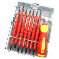 Wholesale 7 Insulated Electrical Hand Screwdriver Set Opening Repair Tools