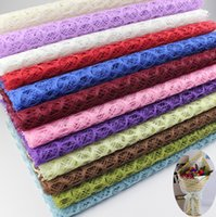 Wholesale Price Flower Wrapping Material Floral Mesh x70cm x27 inch Flower Wrapping Mesh Wedding Decoration DIY Packaging
