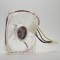 axial chassis - pc computer fan mm with ea led cm silent DC V LED luminous chassis D plug axial fan
