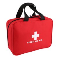 Wholesale First Aid Kit For Survival Slight Emergencies Compact and Comprehensive Perfect for Home for all Outdoors Activities Red