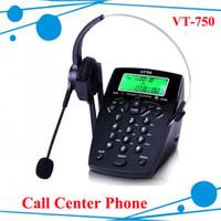 Wholesale Professional Call Center Dialpad Headset Telephone with Dial Key Pad telephone with RJ9 jack headset RJ9 plug headset phone