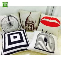 best sofa beds - Best Scenic Cute Square Pillowcase Cushion Covers Sofa Bed Throw Pillow Covers Home Decorative Cojines Capas de Almofada Cushion