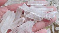 live points - Natural White Crysal lemurian Seed Quartz Points Stone Ore Gems Stone Rough Ore Energy Rock Mineral Specimen