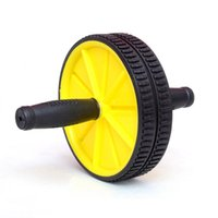 Wholesale Hot Sale PVC Abdominal Exerciser Ab Roller Ab Wheel for Exercise No Noise Belly Fitness Equipment MD0072